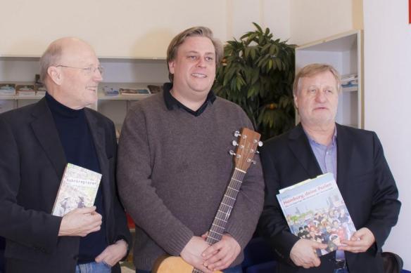 Das Trio Lorenz/Rückel/Rau   v.l.n.r.
