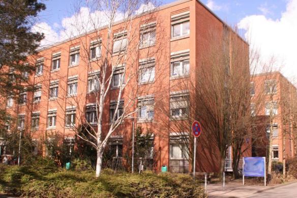 Suchbild: Bücherecke mitten in Hamburg