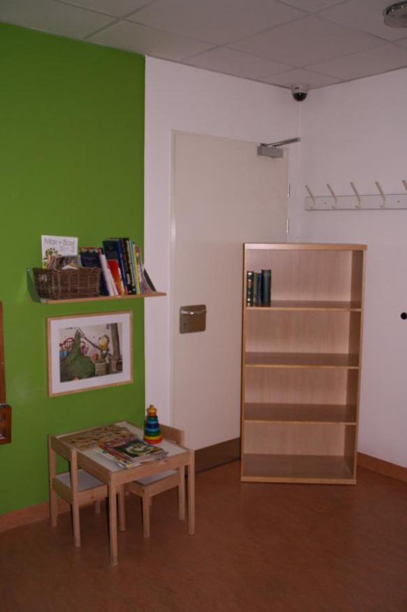 Suchbild 2: Bücherecke mitten in Hamburg