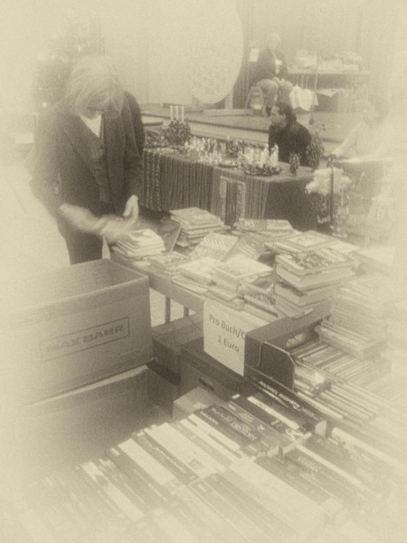 große Auswahl gut erhaltener Bücher zu Gunsten des Michels