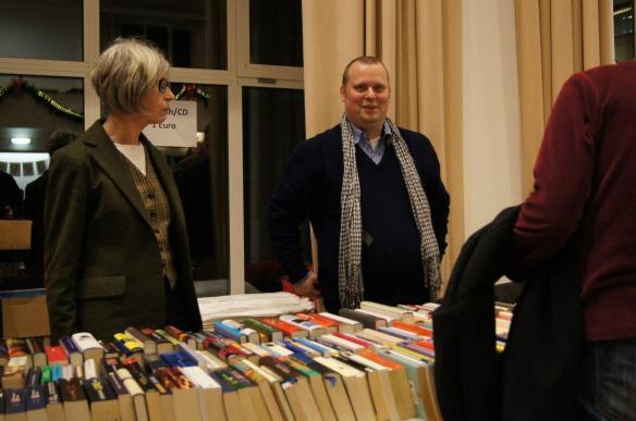 Christian Requard von Bücher-für-den-Michel am Bücherstand