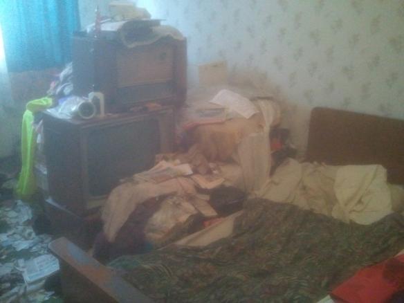 Foto Messie-Wohnung 01